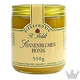 Sonnenblumen Honig, sonnengelb, cremig, mild-würzig, 500g