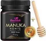 Manuka Honig | MGO 514+ (UMF 15+) | 250g | Das ORIGINAL aus NEUSEELAND | HOCHAKTIV,...