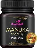 Manuka Honig | MGO 550+ | 250g | Das ORIGINAL aus NEUSEELAND | HOCHAKTIV, PUR, ROH &...