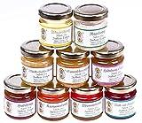 9x 50g Honig Probierset   Geschenkset – naturbelassener Honig zum Kennenlernen,...