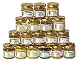 18x 50g Honig Probierset | Geschenkset – naturbelassen, Honig zum Kennenlernen,...