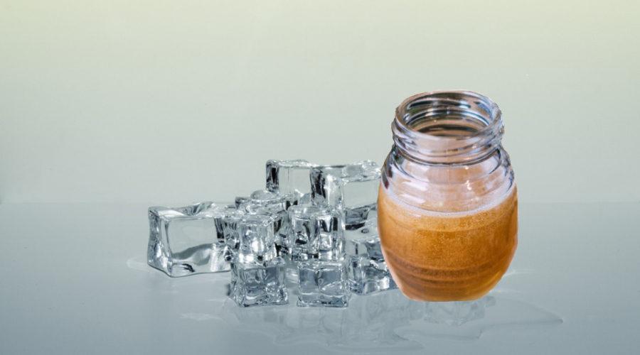 Honig einfrieren