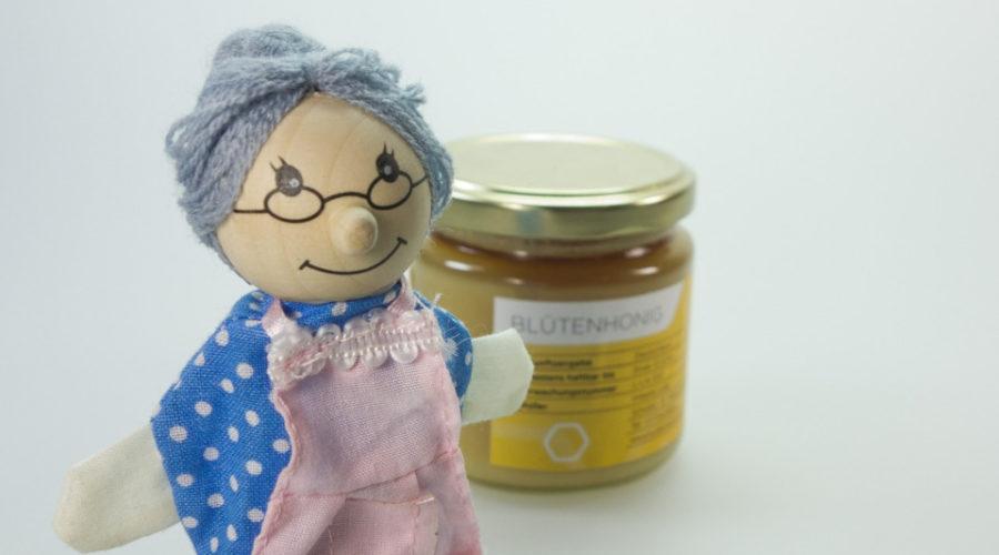 Rezept für Knoblauchhonig, Honig gärt